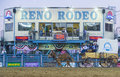Reno rodeo usa june mule drawn wagon participate at the a professional held in nevada usa on june Stock Image