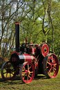 Renovated historic Traction engine Royalty Free Stock Photo