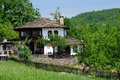Renovated medieval house in bozhentsi village bulgaria Stock Image