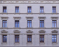 Renovated old building facade altenburg germany Royalty Free Stock Images