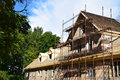 The renovation of a house. Royalty Free Stock Photo