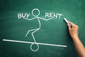 Rent or bay Royalty Free Stock Photo
