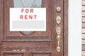 Rent Real Estate Sign Royalty Free Stock Photo