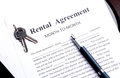Rental agreement month to month Stock Photography