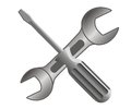 Repair and service icon Stock Photography