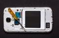 Repair smart phone Royalty Free Stock Photo