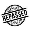 Repassed rubber stamp