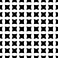 White cross logo pattern seamless on black background vector.