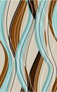 Repeat wave pattern Royalty Free Stock Photo