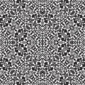 Repeatable damask Pattern Seamless Background Royalty Free Stock Photo