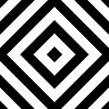 Repeatable geometric pattern. Abstract monochrome angular backgr