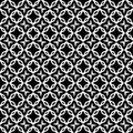 Repeated black and white pattern vector file