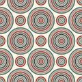 Repeated Circles Ornamental Wa...