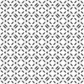 Repeated pattern black and white arts