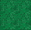 Repeating Circuit Pattern Royalty Free Stock Photos
