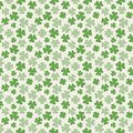 Repeating clover leaf pattern