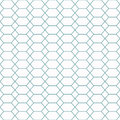 Repeating grid of hexagons and squares. Seamless geometric patte