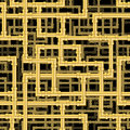 Repeating pipework steam punk maze tileable vector wallpaper that repeats left right up and down Stock Image
