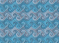 Repeating waves pattern wallpaper texture textures Royalty Free Stock Images
