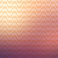 Repetitive geometric vector curvy waves pattern texture on blurred background graphic illustration template Stock Photography