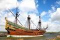Replica of Dutch tall ship the Batavia Stock Images