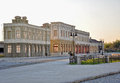 Replica of old city house downtown houses belgrade serbia Royalty Free Stock Photography