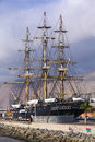 Replica of the ship esmeralda in iquique chile january chilean steam corvette named which was opened as a museum photographed on Stock Photos