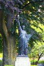Replica of statue liberty luxembourg garden paris Stock Photography