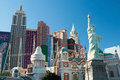 Replica of the statue of liberty in new york new york on the las vegas september vegas strip september vegas usa is ft Royalty Free Stock Image