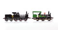 Replica Trains Royalty Free Stock Photo