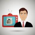 reporter tv news
