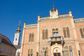 Representative episcopal palace in novi sad is located at the end of the central street the is the seat of ecclesiastical Royalty Free Stock Photos