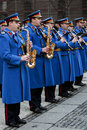 Representative Orchestra of the Serbian Army Guard-1 Royalty Free Stock Photography