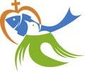 Represents Christian Love Logo