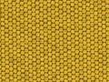 Reptiel textuur - gele hagedis Stock Foto's