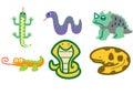 Reptile set