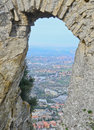 Republic San Marino. Architecture Stock Photography