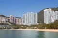 Repulse bay beach in hong kong china Stock Photos