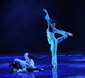 Rescue for the blind-The dance drama The legend of the Condor Heroes Royalty Free Stock Photo