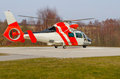 Rescue helicopter patrol to world class aeromedical search and Stock Photography