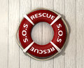 Rescue Lifebuoy Royalty Free Stock Photo
