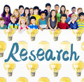 Research Answer Discovery Information Results Concept Royalty Free Stock Photo