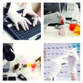 Research theme Royalty Free Stock Photo