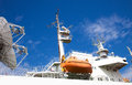 Research vessel Royalty Free Stock Photo