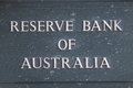 Reserve bank of australia office melbourne Royalty Free Stock Photography