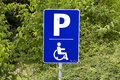 Reserved parking Royalty Free Stock Photo
