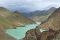 The reservoir is called manla is a of tibetan plateau it is not a lake Stock Photos