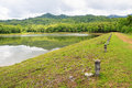 Reservoir at jedkod pongkonsao natural study and ecotourism cent the center saraburi thailand Royalty Free Stock Image