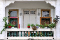 Residence balcony in south of china Royalty Free Stock Image