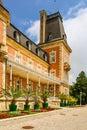 Residence Euxinograd. summer Royal Palace and park. Euxinograd, Varna, Bulgaria Royalty Free Stock Photo